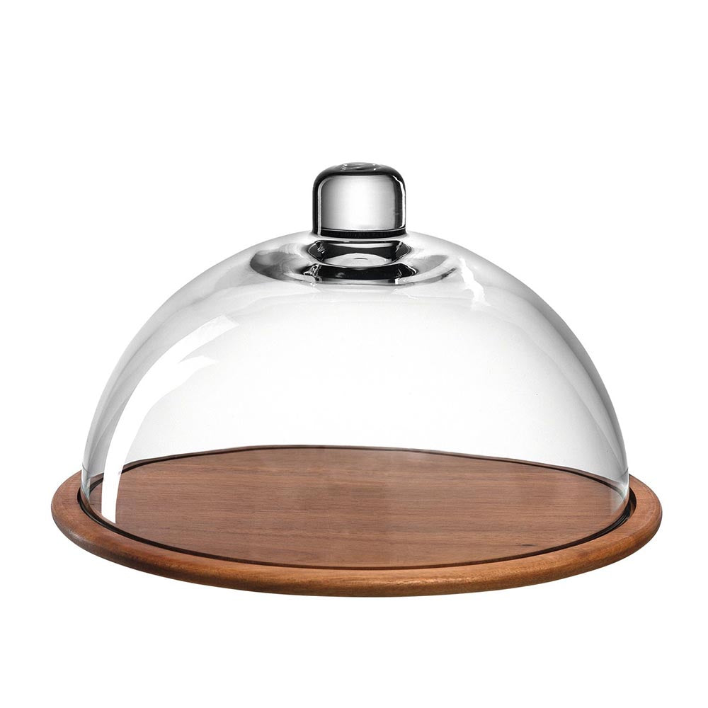 Leonardo Cheeseboard with Glass Dome Cucina– 2 Piece