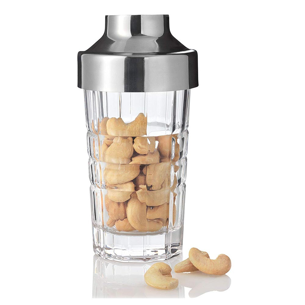 Leonardo Glass Snack Dispenser with Stainless Steel Lid Spiritii