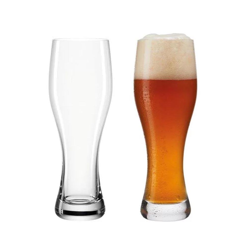 Leonardo Beer Glass Weissbeer Taverna 330ml – Set of 2