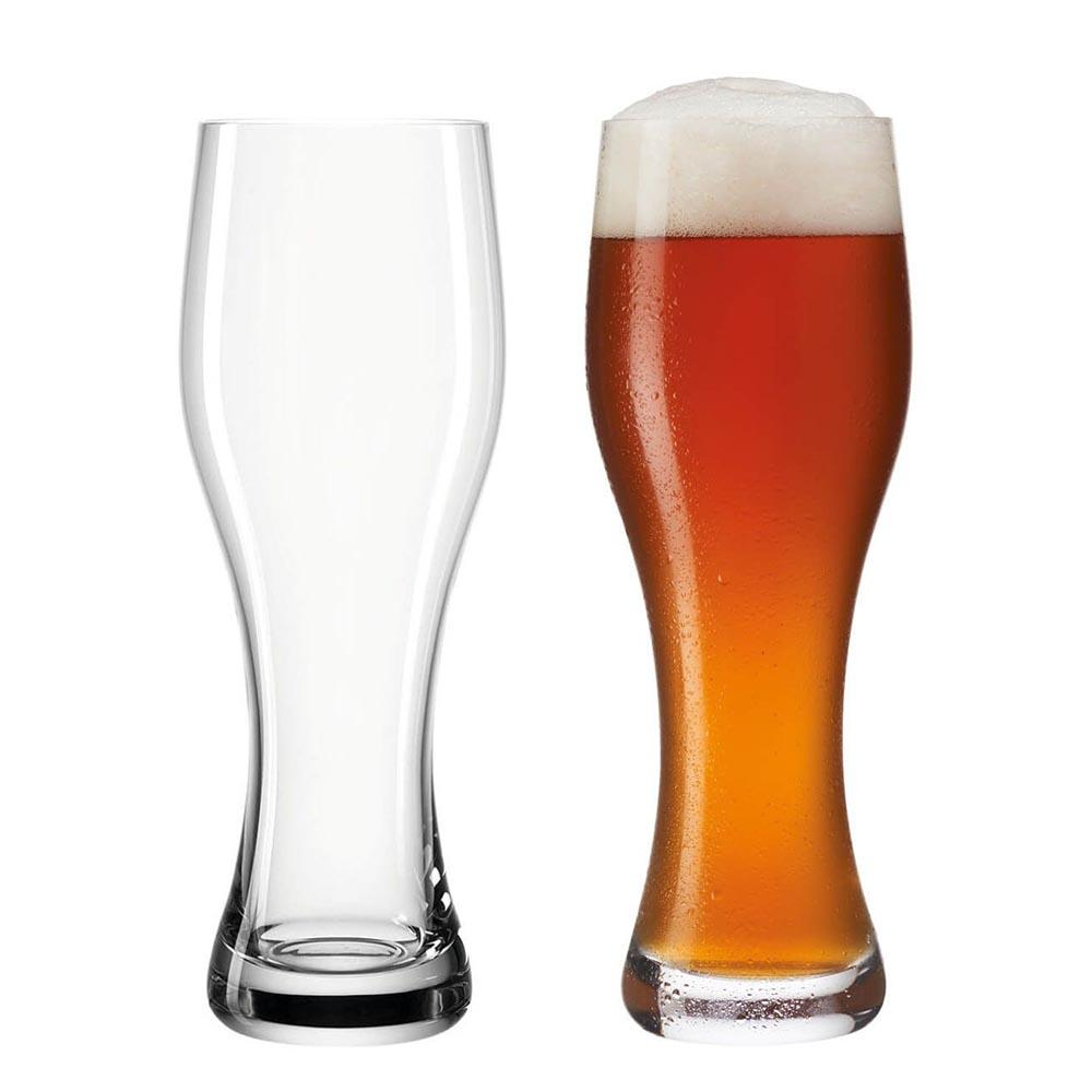 Leonardo Beer Glass Weissbeer Taverna 500ml – Set of 2