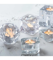 Leonardo Tealight Candle Holder Tablelight 7 SWIRL