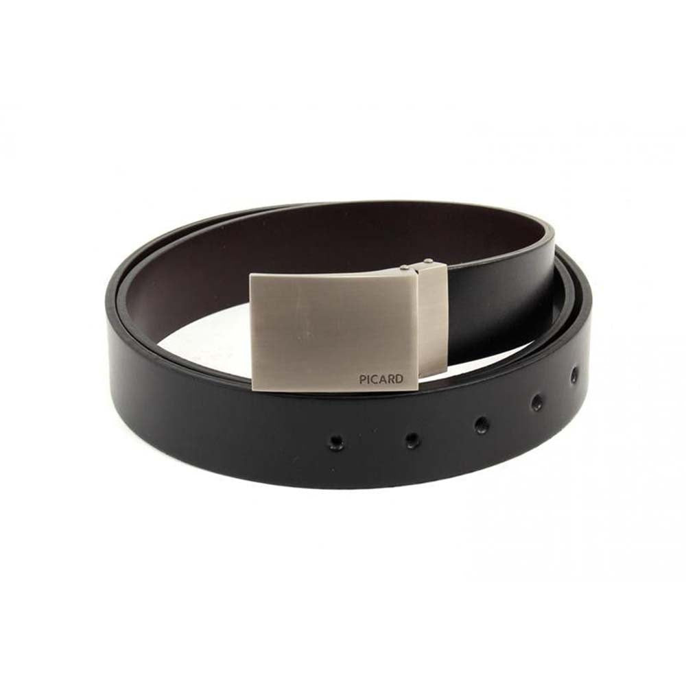 Picard 1092 Reversible Leather Belt - Black & Brown