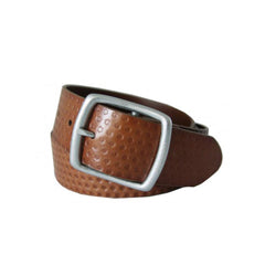 Picard 1123 Genuine Leather Belt - Cognac