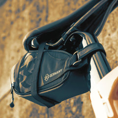 SKS Bike Saddle Bag - RACER STRAPS 800 Black
