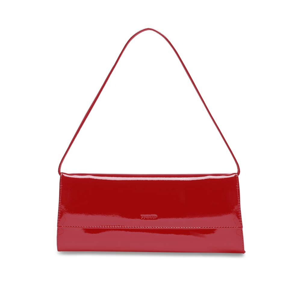Picard Auguri Evening Clutch Handbag - Red Lacquer
