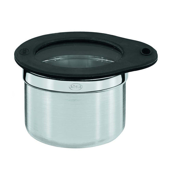 Roesle Jar with Glass Lid and Silicone Seal 8 cm