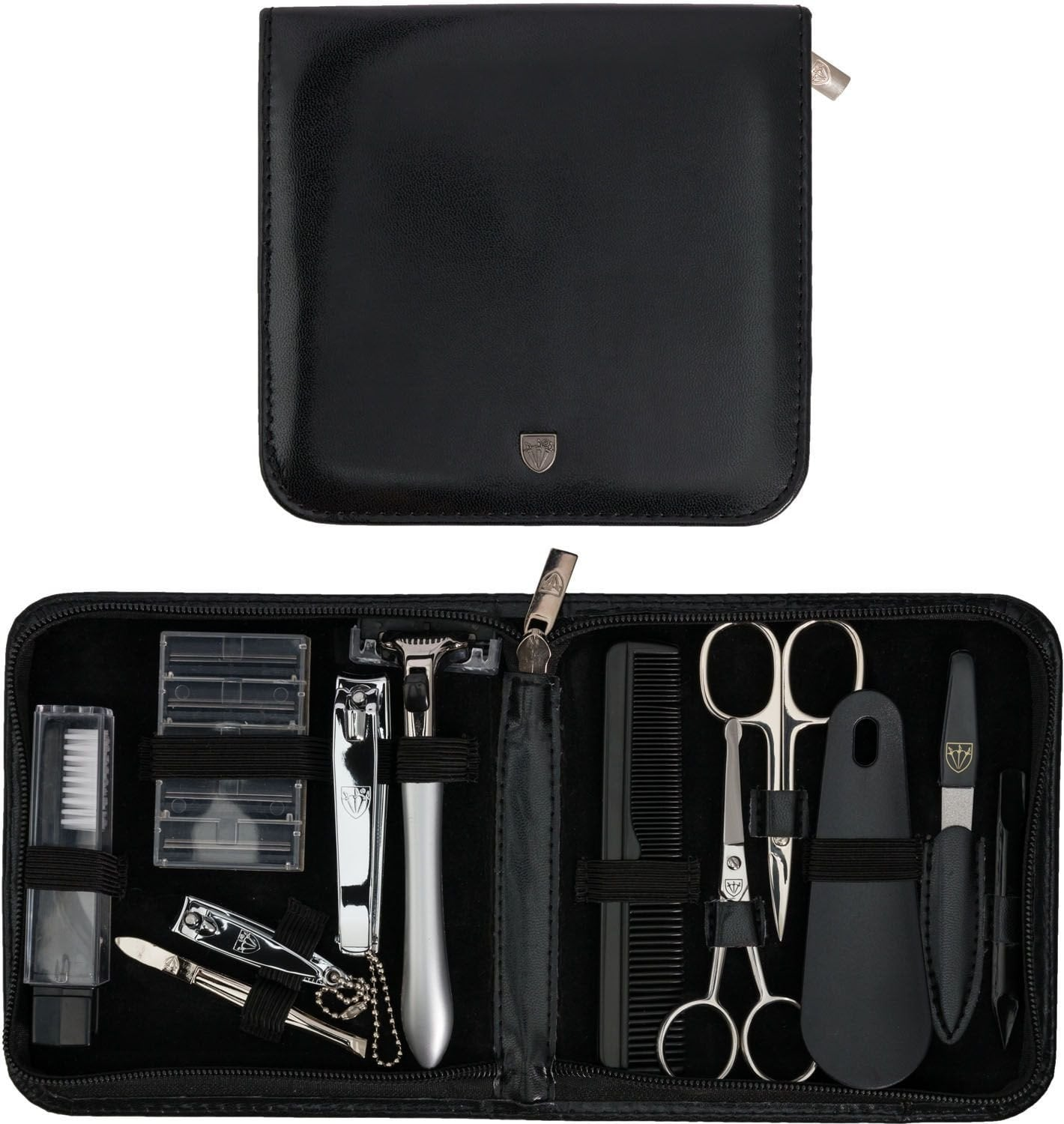 Kellermann Gents Set Black, Artificial Leather