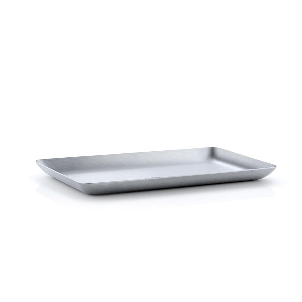 Blomus BASIC Matt Stainless Steel Tray - 13 x 22cm