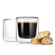 Blomus Coffee Glass Nero Set - 2 Pack
