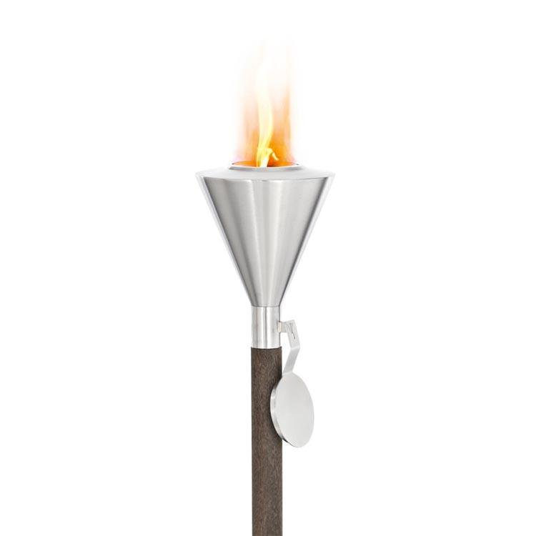 Blomus Garden Torch Stainless Steel Gel Burning 65032 ORCHOS