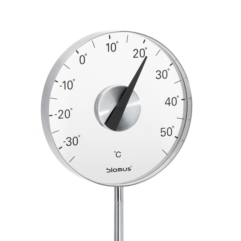 Blomus Outdoor Thermometer - Stainless-Steel Matte GRADO