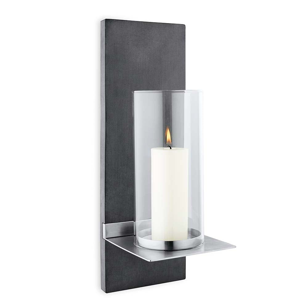 Blomus Wall Candle Holder With Candle Finca