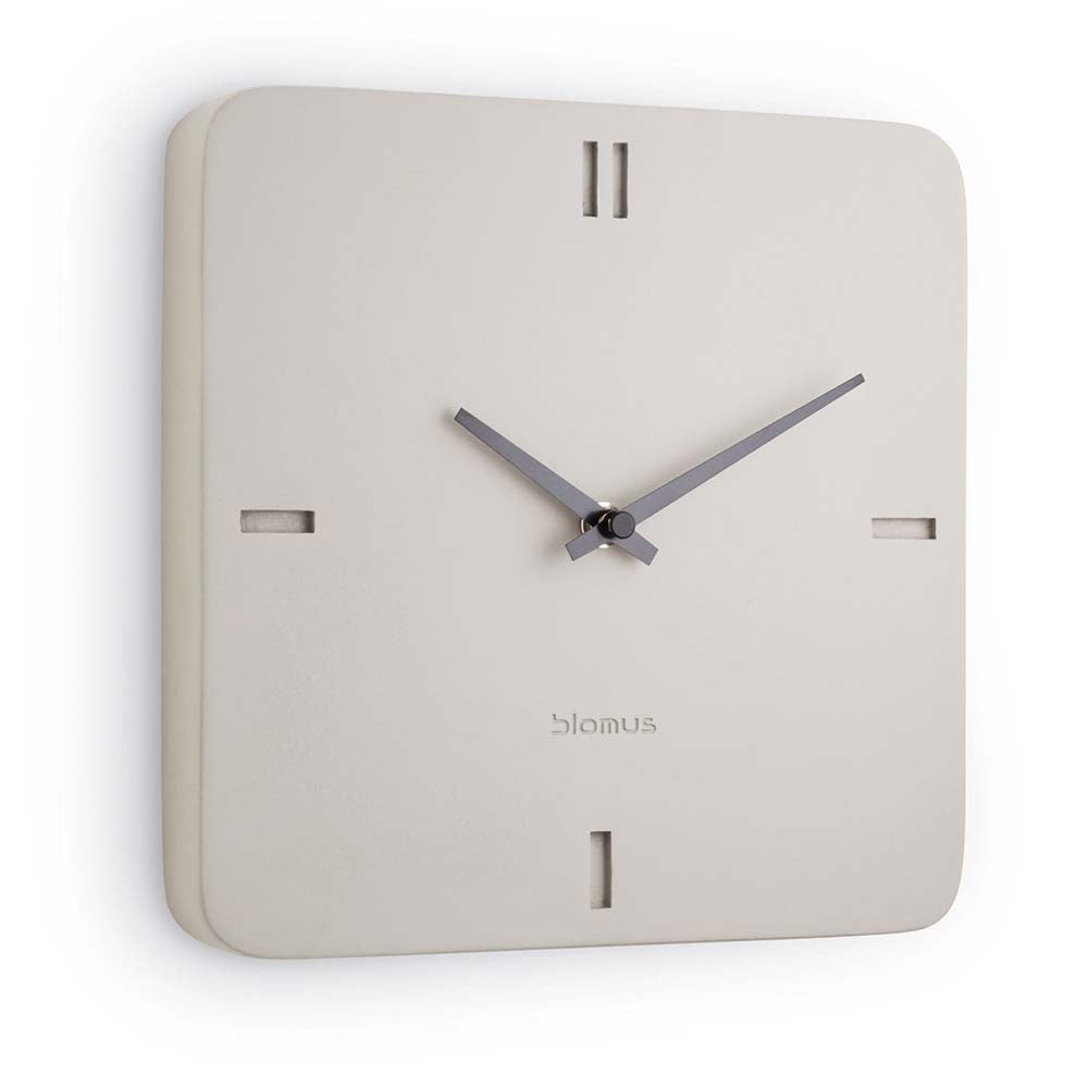 Blomus Wall Clock Concrete Epoca Square