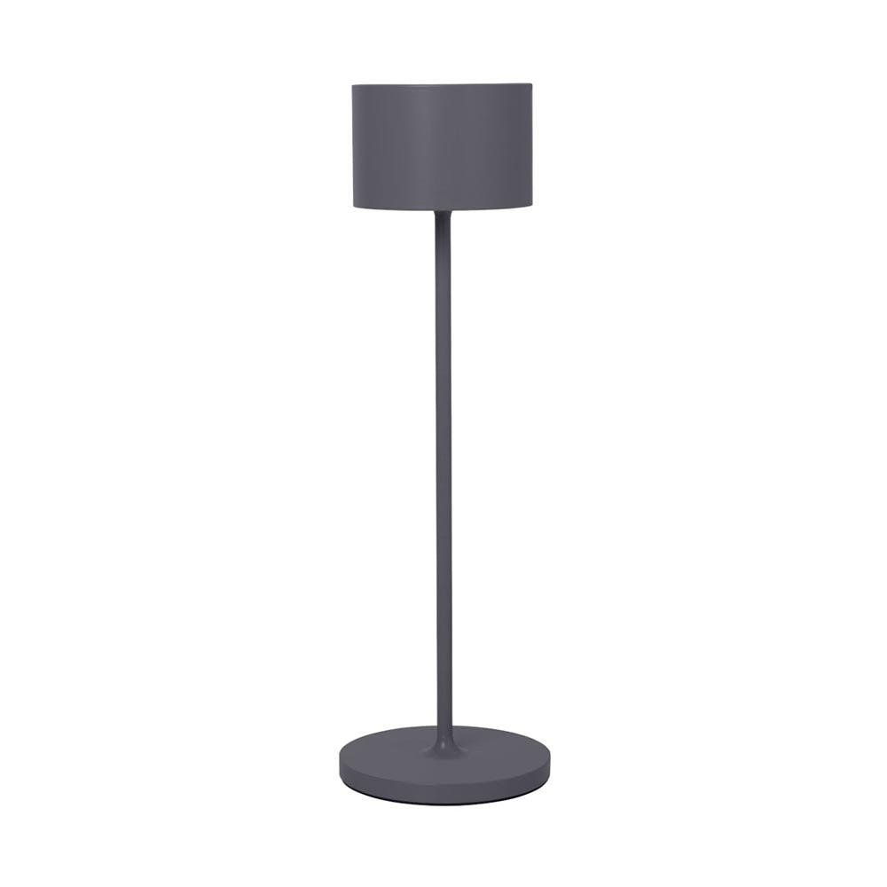 Blomus FAROL Mobile Rechargeable LED-Lamp - Dark Grey