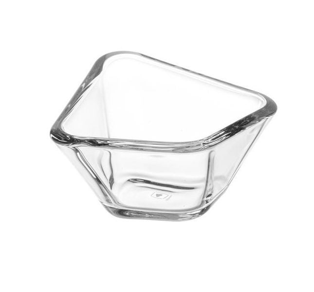 Bowl Clear Glass Decorative PANAREA 13 cm