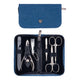 Kellermann Manicure set jeans blue, fashion material 7244 P N