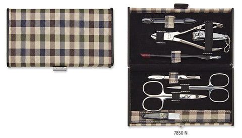 Kellermann Manicure Set Chequered, Fashion Material 1
