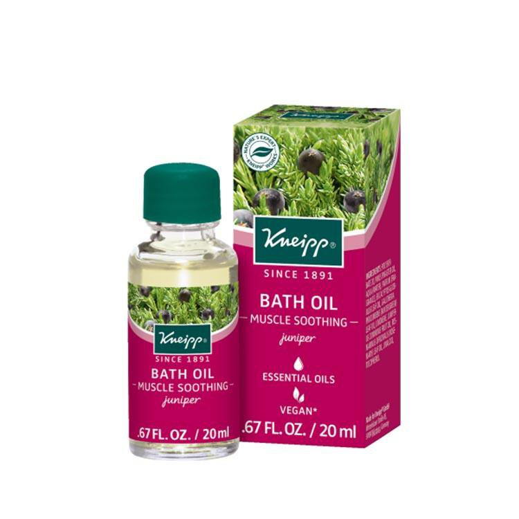 "Kneipp Bath Oil Juniper ""Muscle Soothing"" (20 ml)"