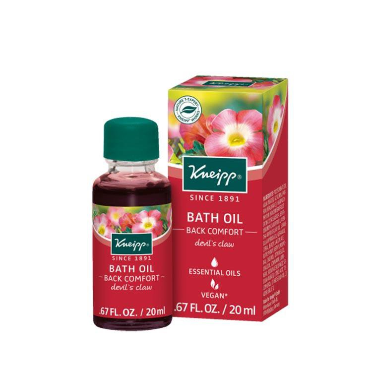 "Kneipp Bath Oil Devil's Claw ""Back Comfort"