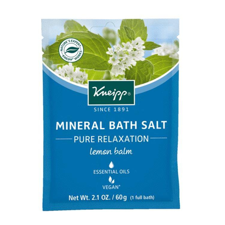 "Kneipp Mineral Bath Salt Lemon Balm ""Pure Relaxation"" (60 g)"