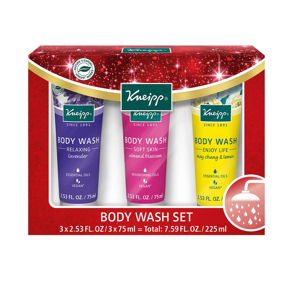 Kneipp Festive Body Wash Set (3x75 ml)