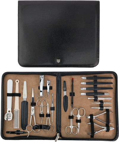 Kellermann Manicure Set Black Artificial Leather