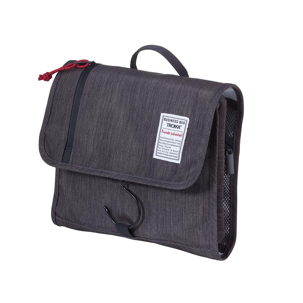 Troika Travel Toiletry Bag with Hook - Business Washbag