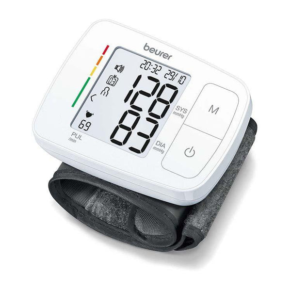 Beurer Speaking Wrist Blood Pressure Monitor BC 21