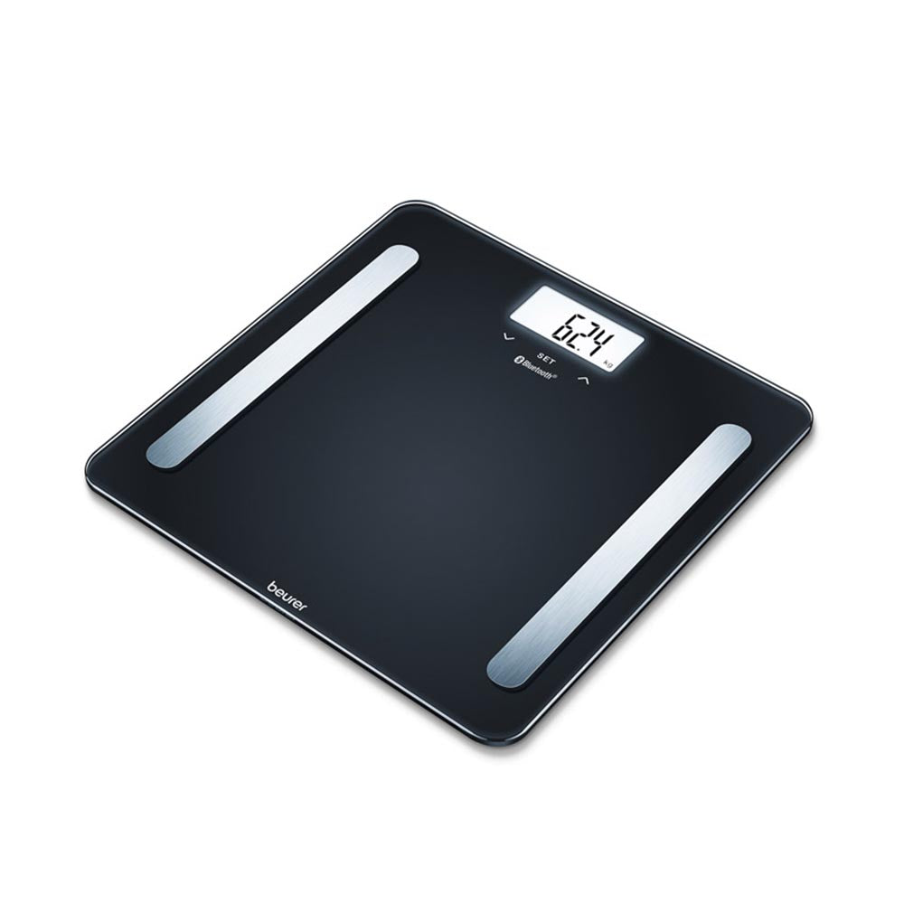 Beurer Diagnostic Bathroom Scale BF 600 Pure Black