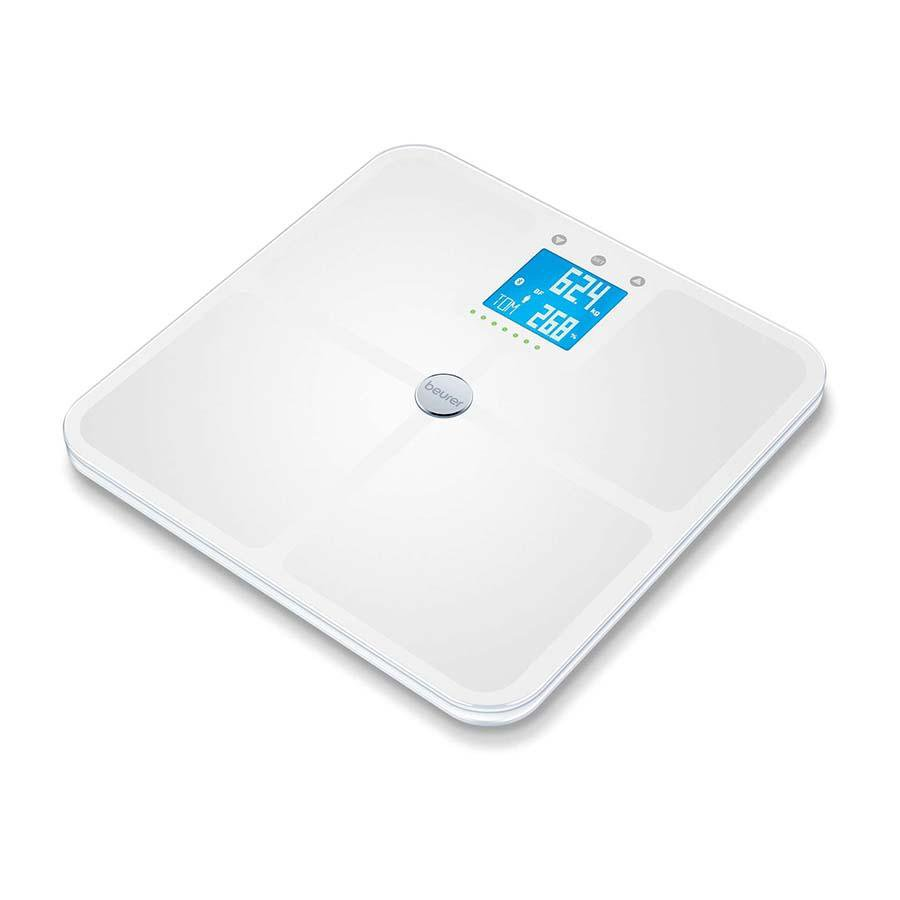 Beurer Diagnostic Bathroom Scale BF 950 White