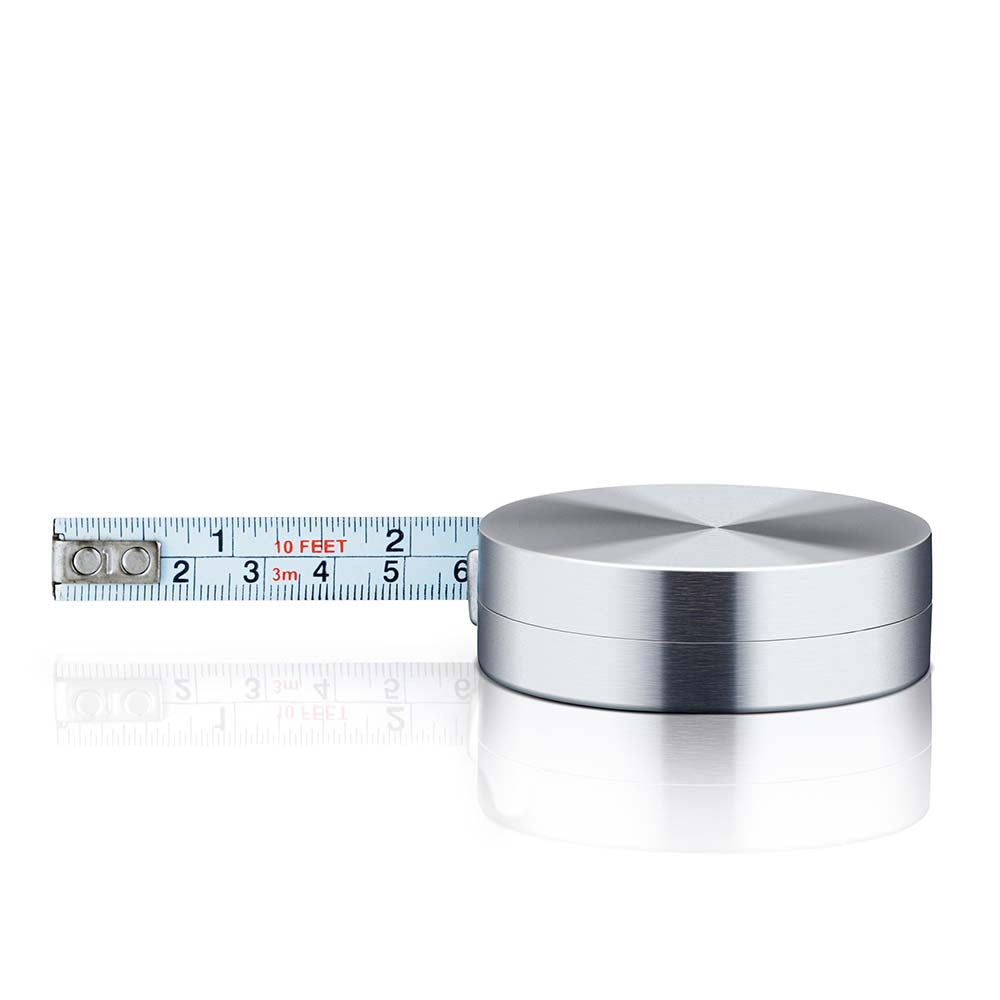 Blomus Stainless Steel Matt Gents Tape Measure - 3m