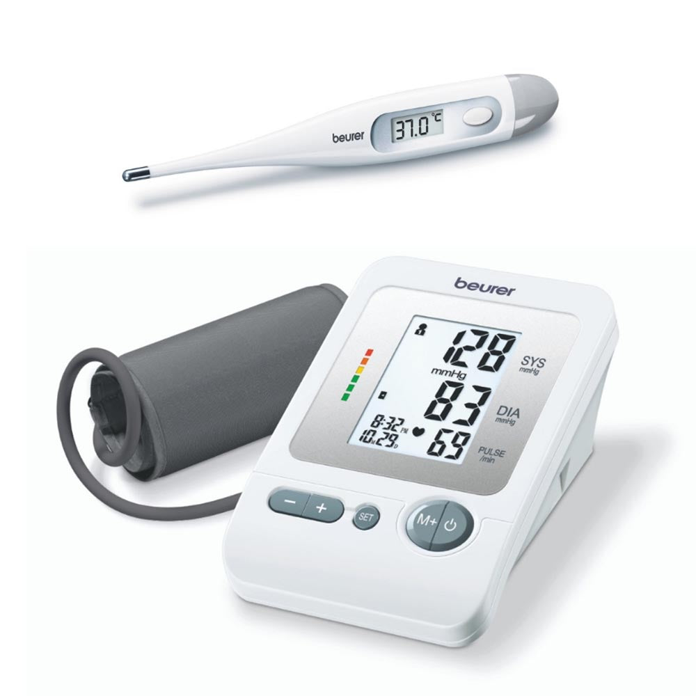 Beurer Blood Pressure Monitor BM 26 & Thermomether FT 09/1