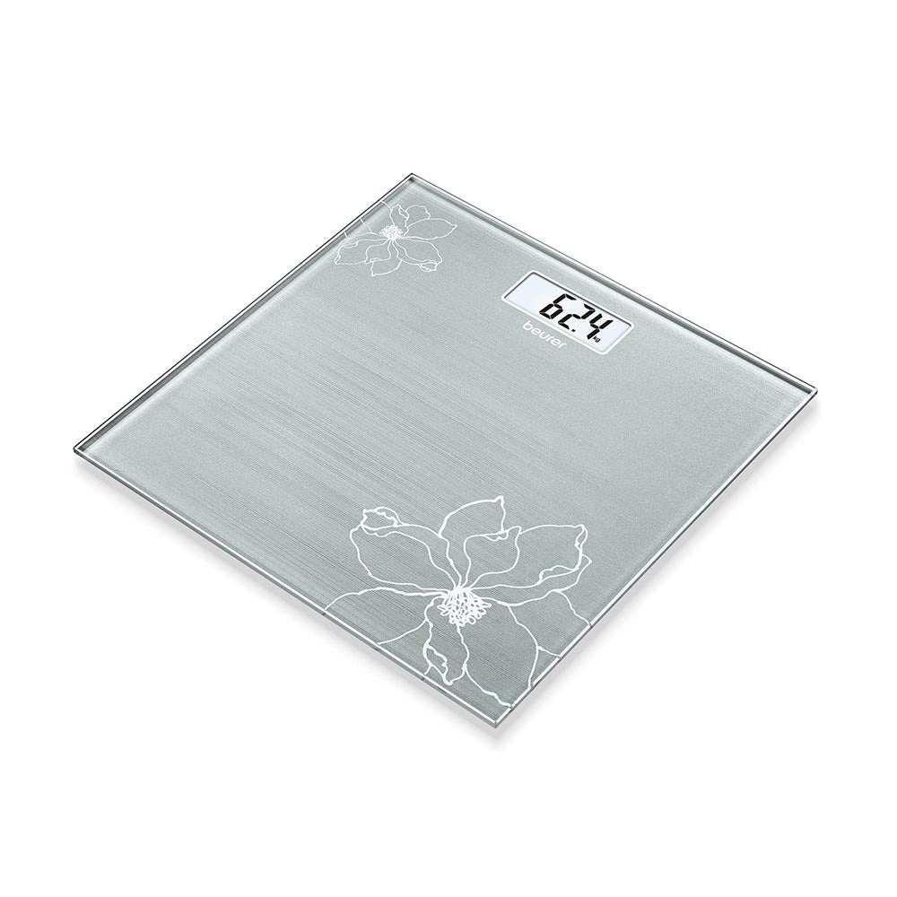 Beurer Glass Bathroom Scale GS 10 - Silver