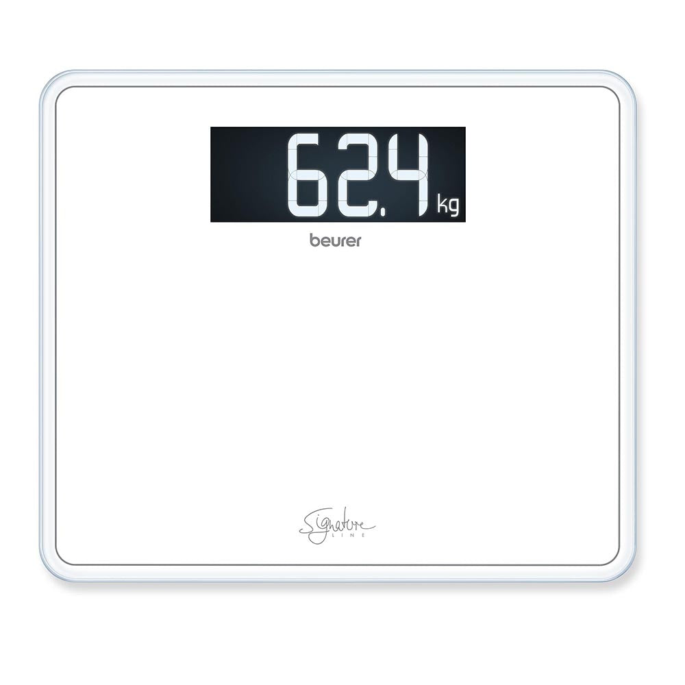 Beurer GS 410 Glass Scale XXL Signature Line - White