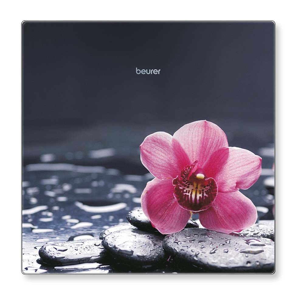 Beurer GS 215 Glass Bathroom Scale - Relax