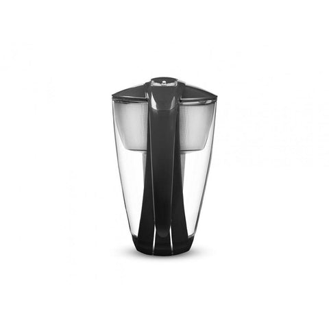 PearlCo Glass Water Filter Jug - Black