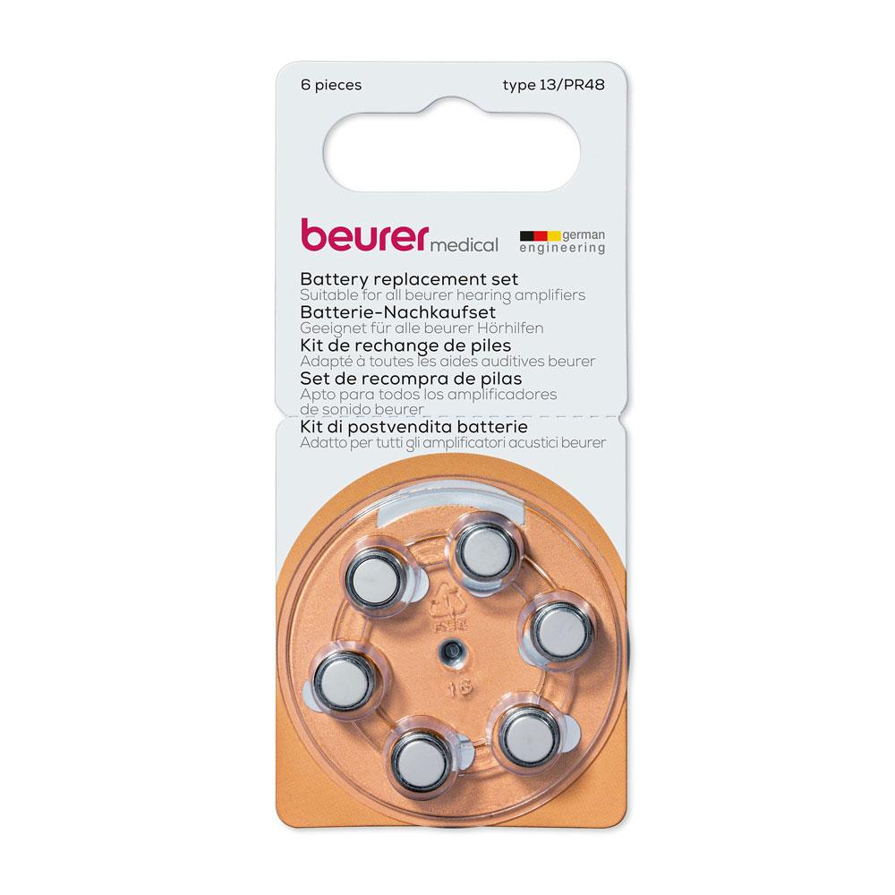 Beurer Battery Replacement Set for Hearing Amplifier HA20 and HA50