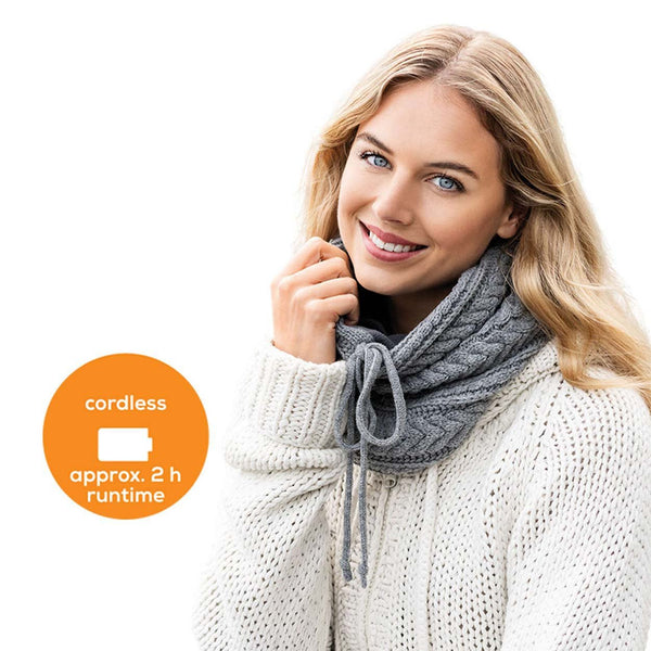 Beurer Heated Tube Scarf with Powerbank HK 37 To Go
