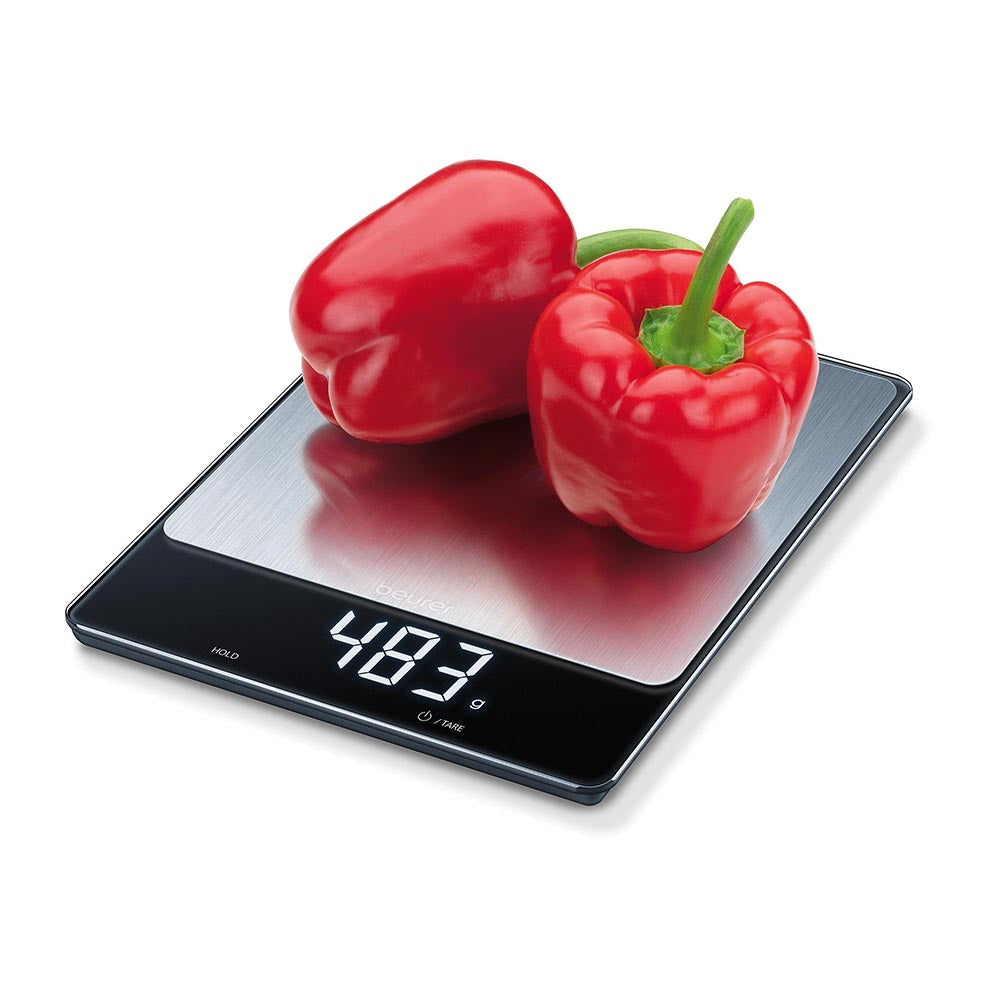 Beurer KS 34 XL Kitchen Scale - Stainless Steel