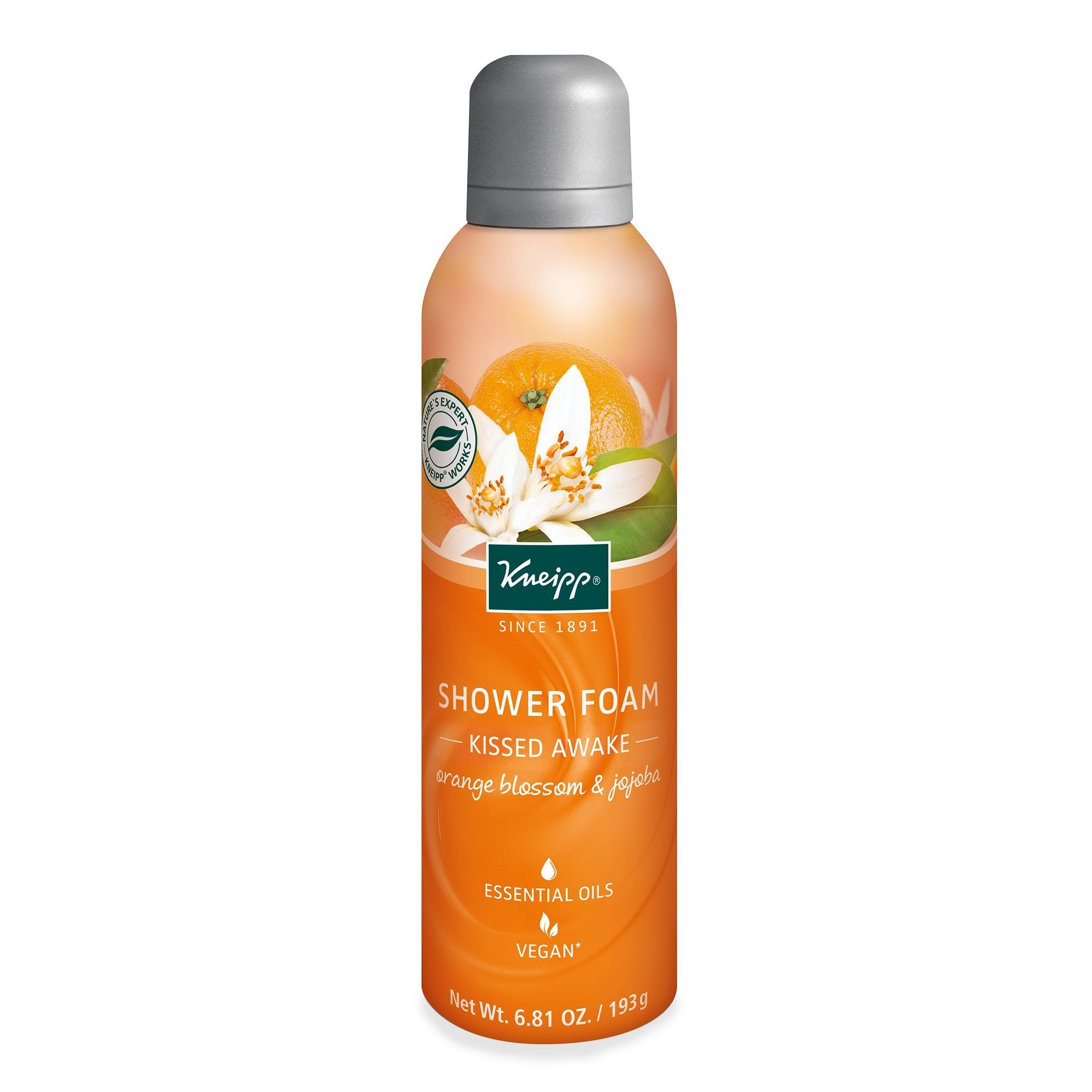 Kneipp Shower Foam Orange Blossom & Jojoba