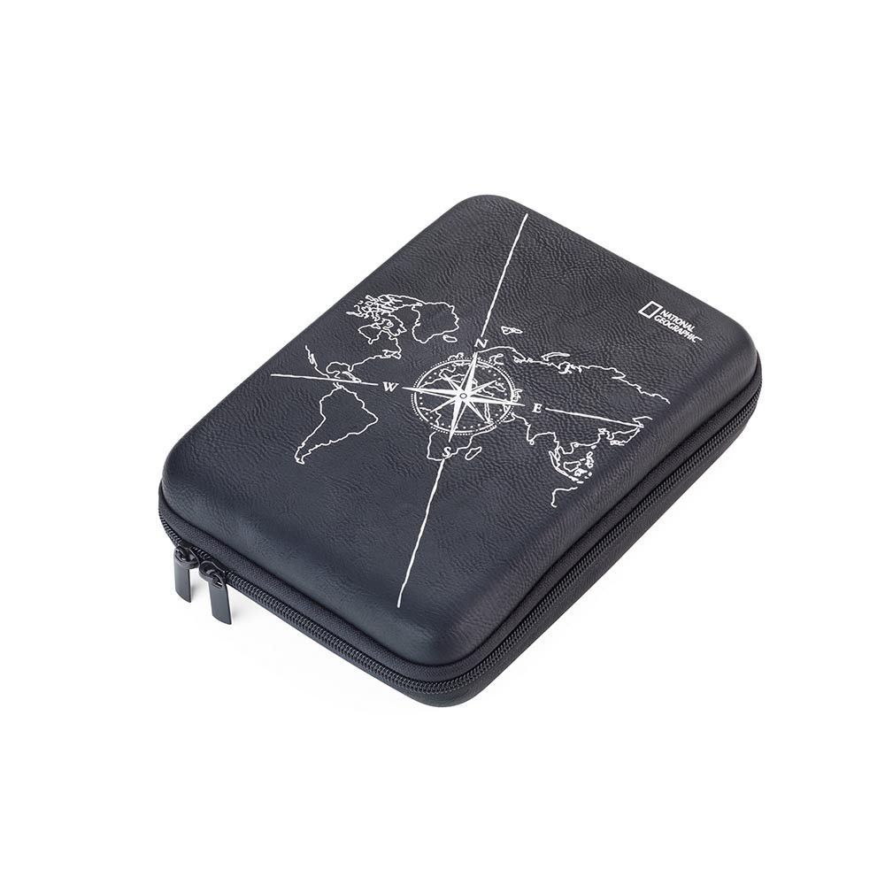 Troika Travel Organiser Case with The National Geographic Society - Black