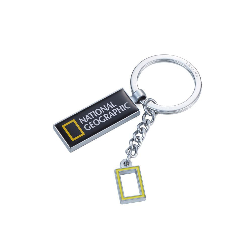 TROIKA Keyring NATIONAL GEOGRPAHIC KEYRING for National Geographic Society