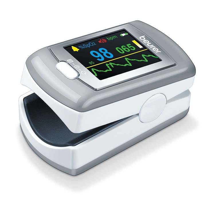 Beurer Pulse Oximeter Rechargeable PO 80 & Software