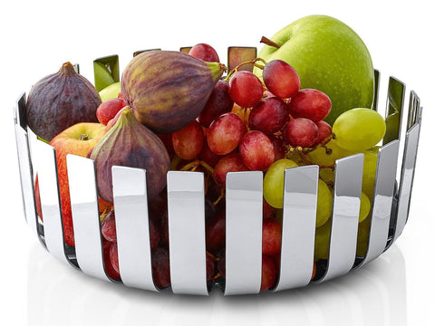 Blomus Gusto Fruit Bowl, Polished