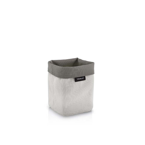 Blomus Ara Small Reversible Storage Basket - Sand & Taupe