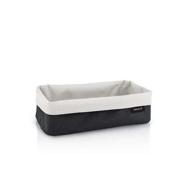 Blomus Ara Large Reversible Storage Basket - Sand & Anthracite