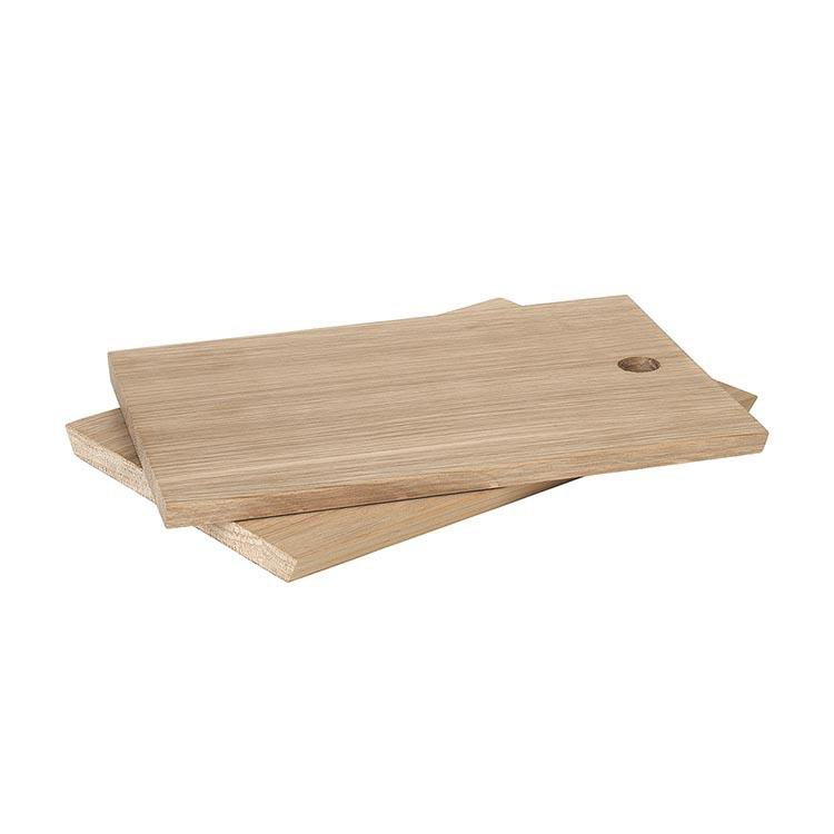 Blomus Serving Board Oak BORDA 14 x 20 Set of 2