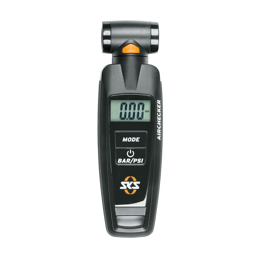 SKS Air Pressure Gauge - AIRCHECKER (AV/SV) Black