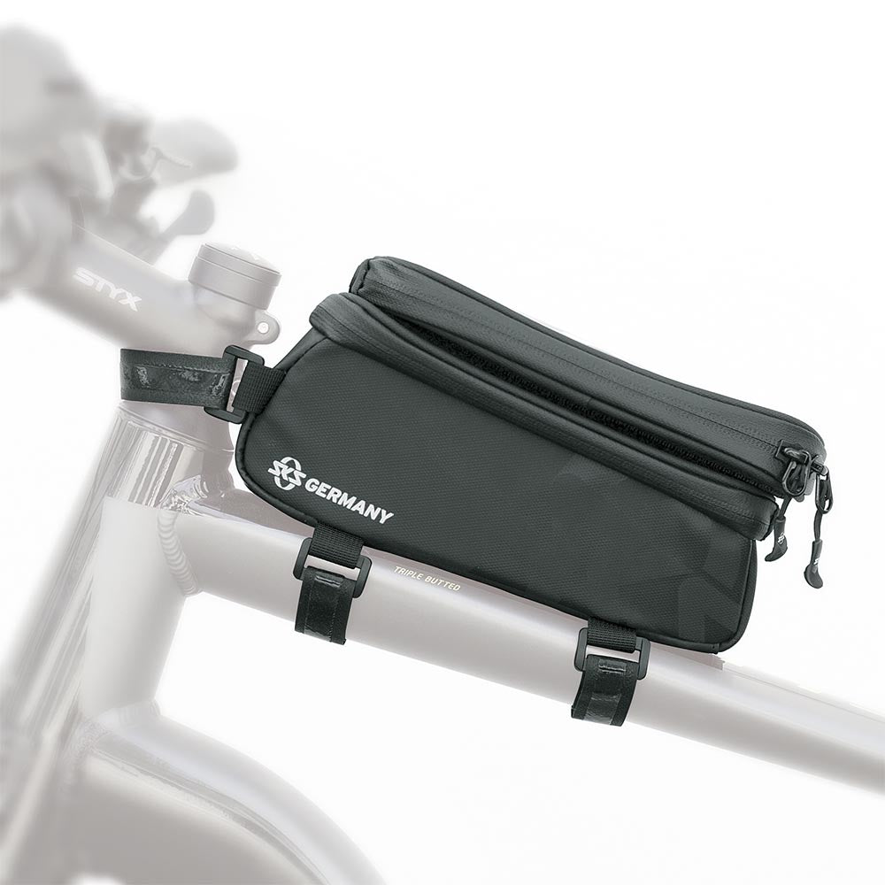 SKS Bike Top Tube Bag - EXPLORER SMART Black
