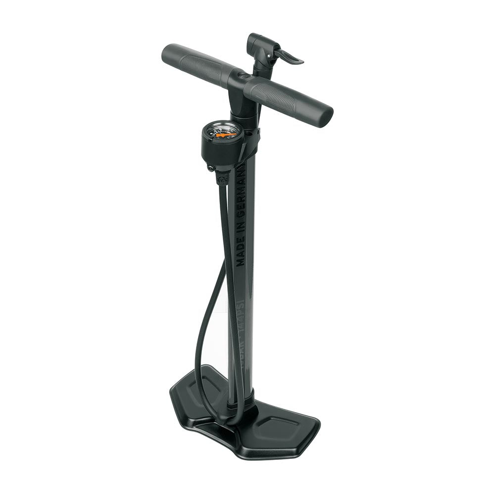SKS Bike Multi-valve/Multi-use Floor Pump - AIRWORX 10.0 Anthracite